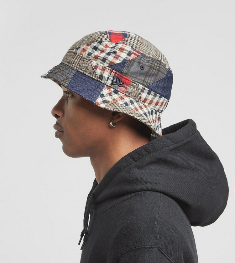 New Era Denim Patch Bucket Hat