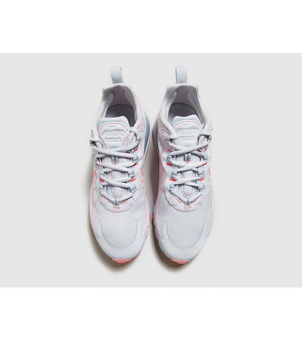 air max 270 react trainers white flash crimson