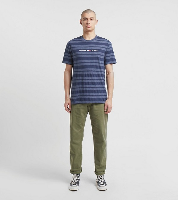 Tommy Jeans Linear Stripe Short Sleeve T-Shirt