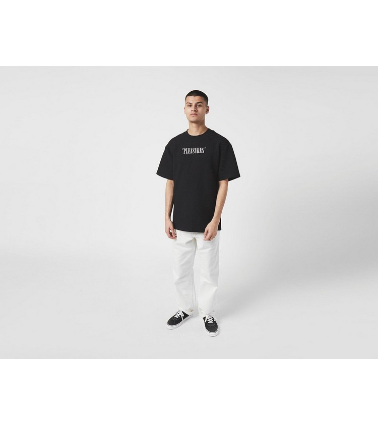 PLEASURES Visions Waffle Knit T-Shirt