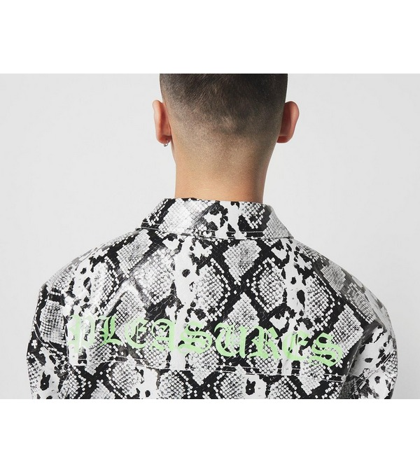 PLEASURES Rail Snakeskin Work Jacket