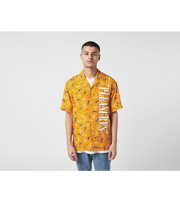 PLEASURES Andy Rayon Button Down Shirt