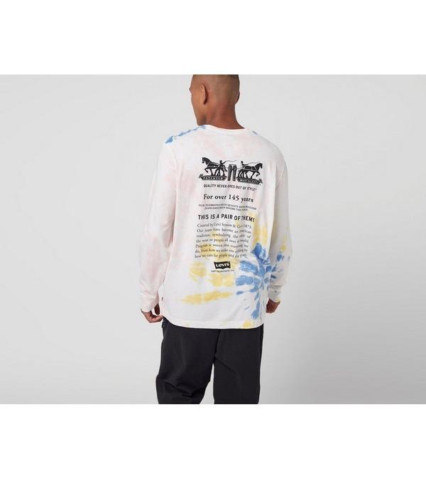 Levis Tie Dye Long Sleeve T-Shirt