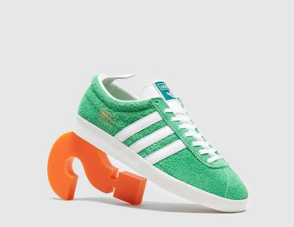 adidas gazelle hombre verde y naranja
