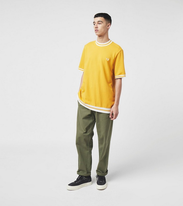 Fred Perry Short Sleeve Knit Sweatshirt