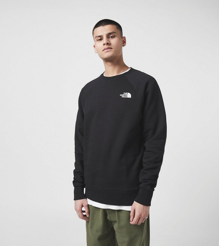 The North Face Raglan Redbox Crewneck Sweatshirt