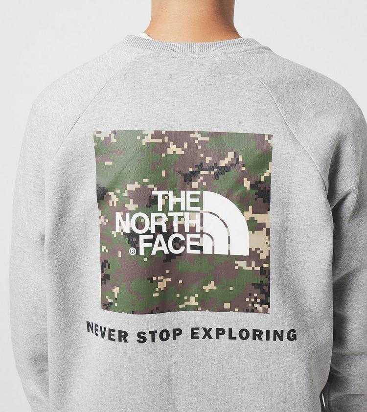 The North Face Raglan Redbox Crewneck Sweatshirt