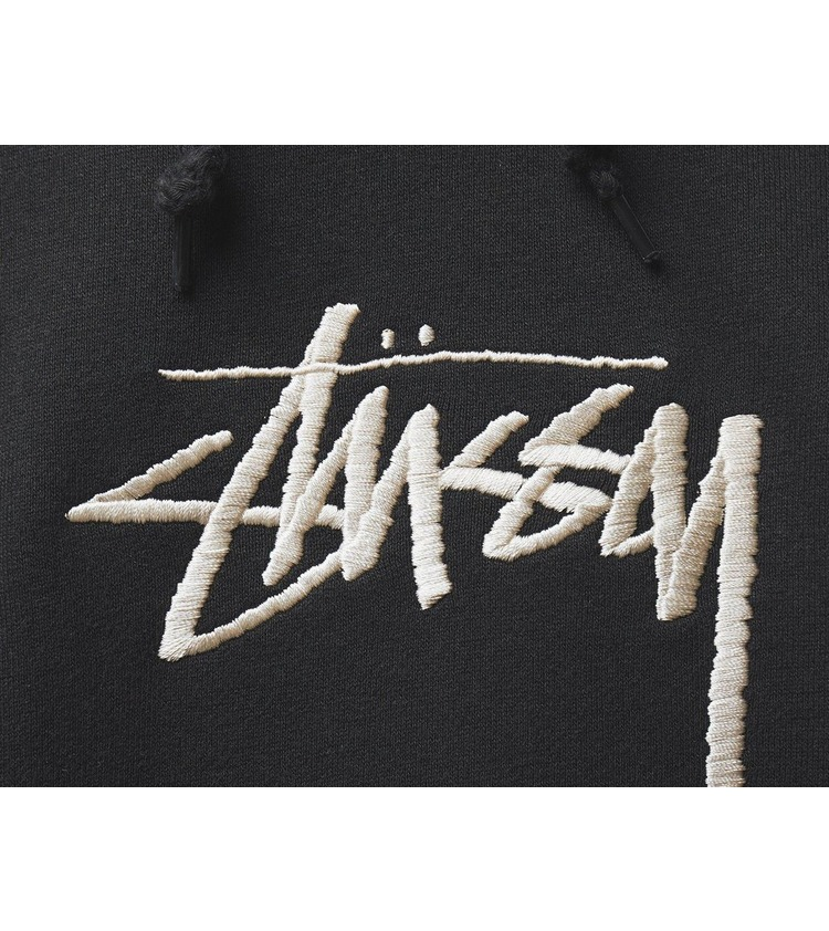 Stussy Stock Logo Pullover Hoodie