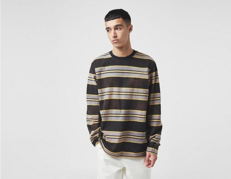 Stussy Bleach Stripe Long Sleeve T-Shirt