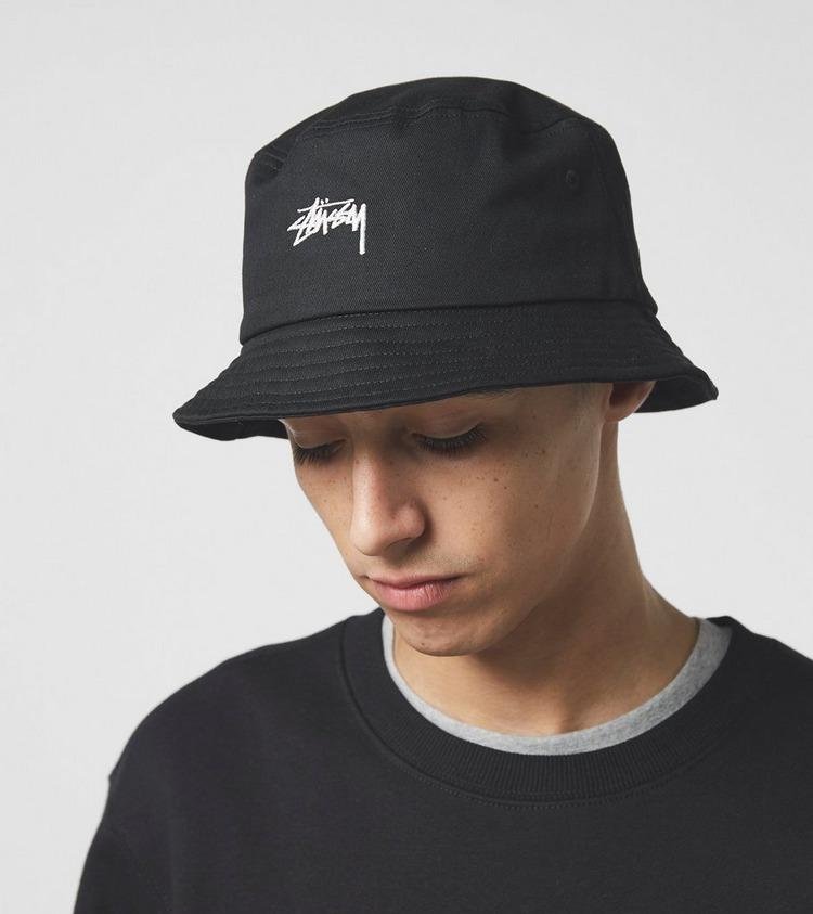 Stussy Stock Logo Bucket Hat