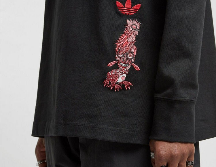 adidas Originals x Keiichi Tanaami Gallery Rugby Shirt