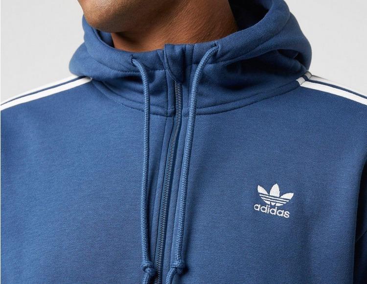 adidas Originals 3 Stripe Half-Zip Hoodie