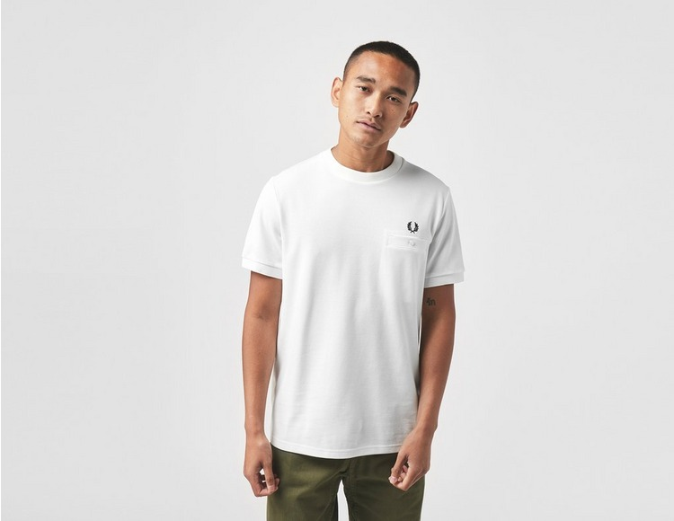 Fred Perry Pocket Detail Pique T-Shirt