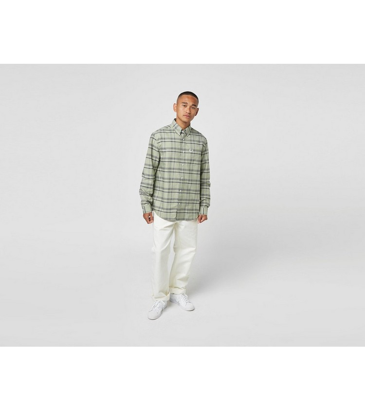 Fred Perry Tonal Check Long Sleeve Shirt