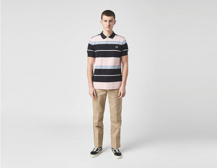 Fred Perry Stripe Shorts Sleeve Polo Shirt