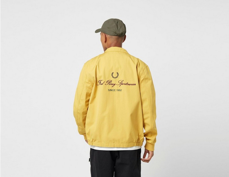 Fred Perry Embroidered Zip Jacket