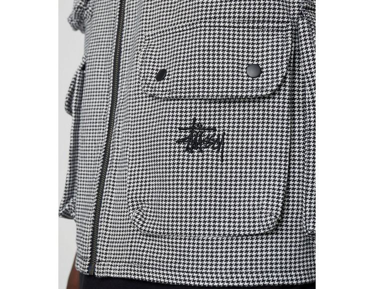 Stussy Houndstooth Work Vest