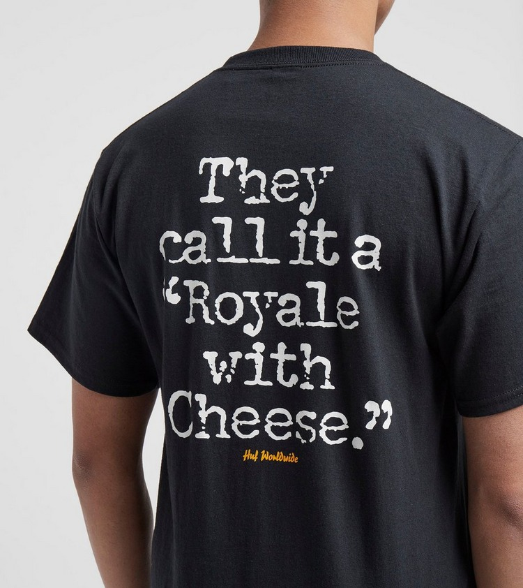 HUF x Pulp Fiction Royale With Cheese T-Shirt