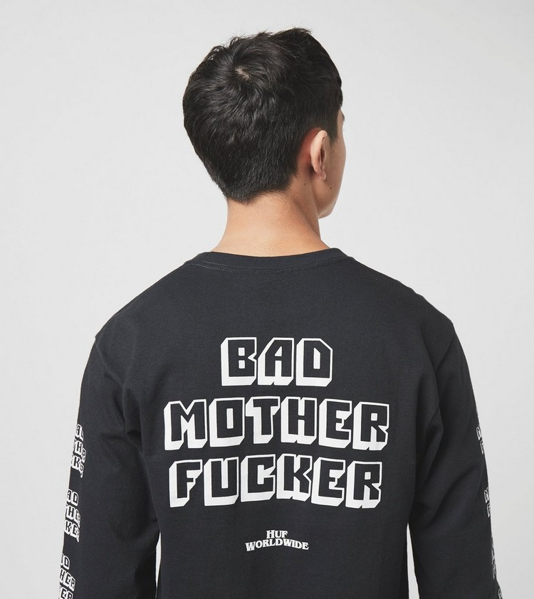 HUF x Pulp Fiction Bad Mother Fucker Langærmet T-Shirt