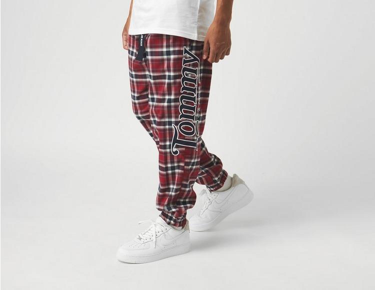 Tommy Jeans Plaid Track Pants