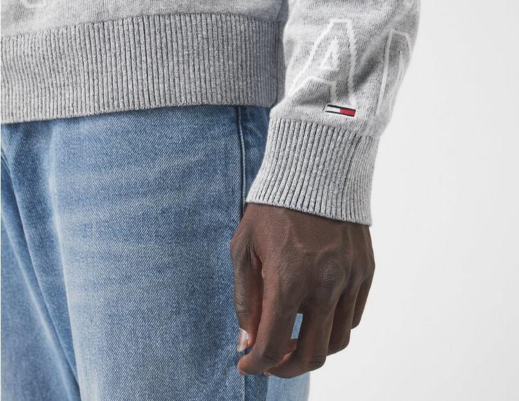 Tommy Jeans TJM All Over Print Logo Sweatshirt