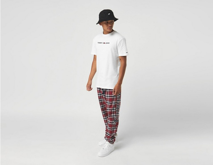 Tommy Jeans Straight Logo Short Sleeve T-Shirt