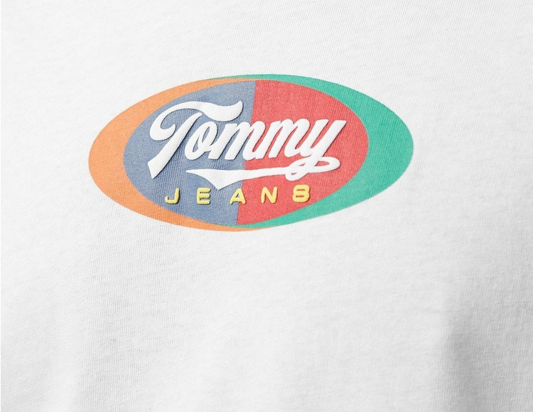 Tommy Jeans Oval Multi Logo Short Sleeve T-Shirt