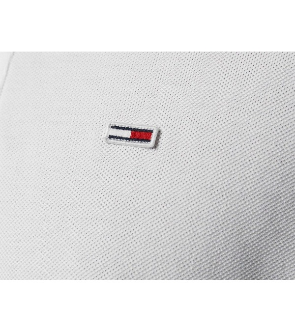 Tommy Jeans Colour-Blocked Organic Cotton Polo