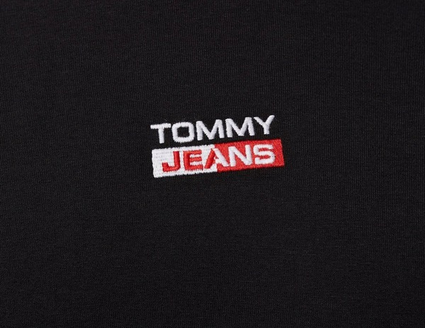 Tommy Jeans Organic Cotton Jersey Crew T-Shirt