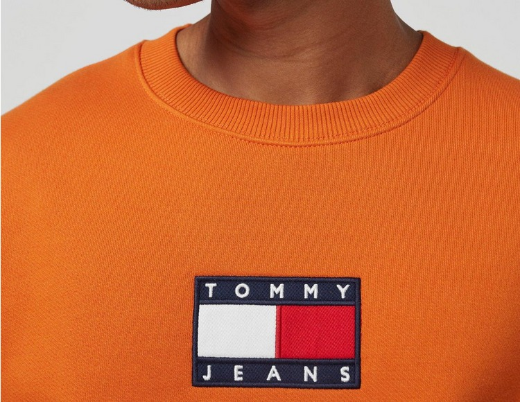 Tommy Jeans Sweat Small Flag Crewneck