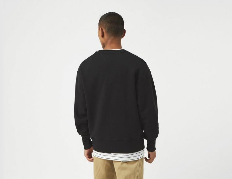 Tommy Jeans Organic Cotton Fleece Flag Sweatshirt