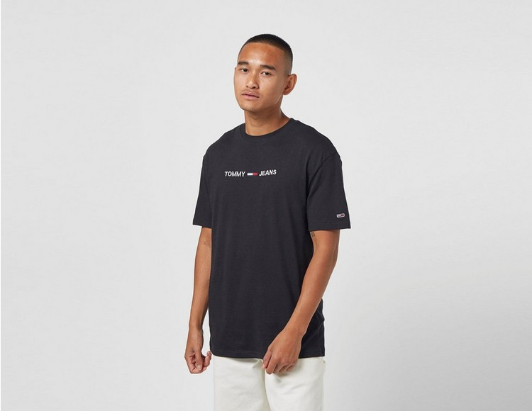 Tommy Jeans Logo Organic Cotton Jersey T-Shirt