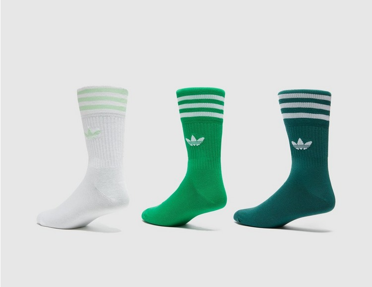 adidas Originals 3-Pack Trefoil Socks