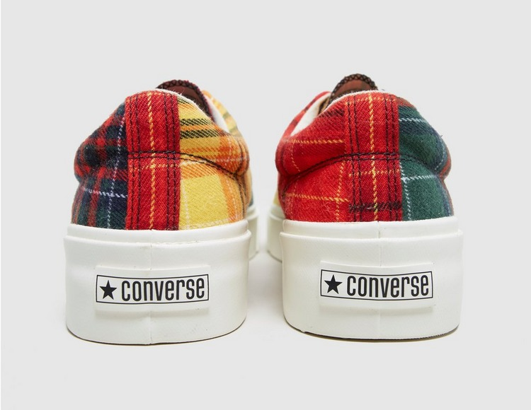 Converse Twisted Plaid Skid Grip Ox