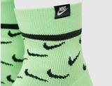 Nike 2 Pack SNEAKR Sox Crew Socks