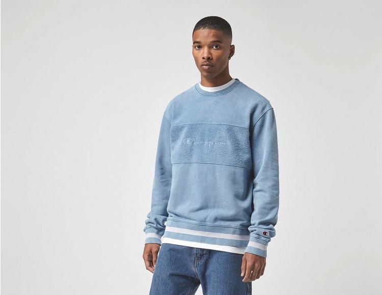 Champion Wash Panel Sweatshirt