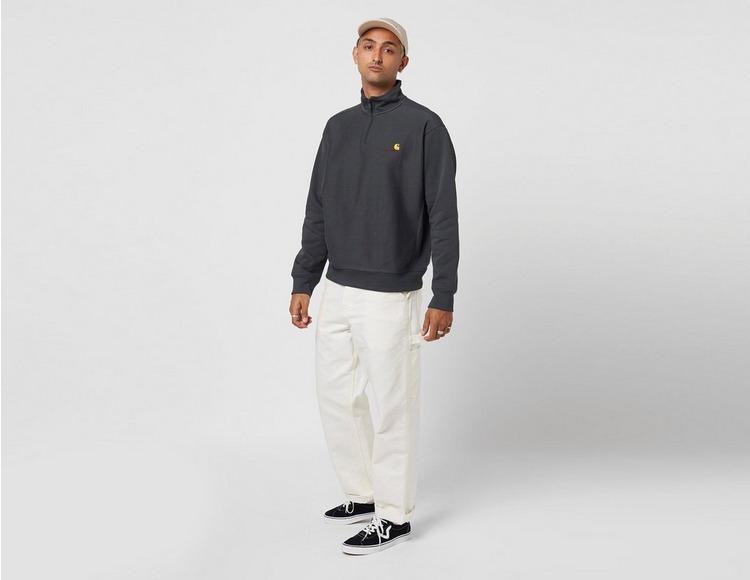 Carhartt WIP American Script Half Zip Sweatshirt