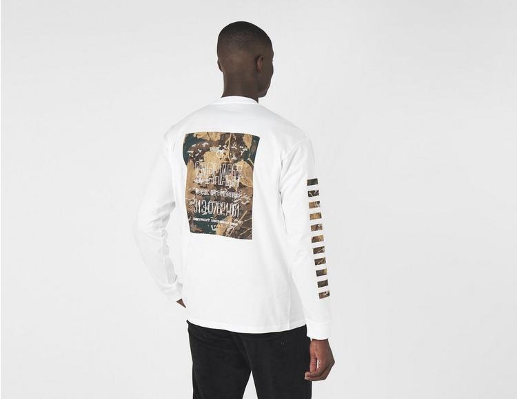 Carhartt WIP Long Sleeve Camo Mil T-Shirt