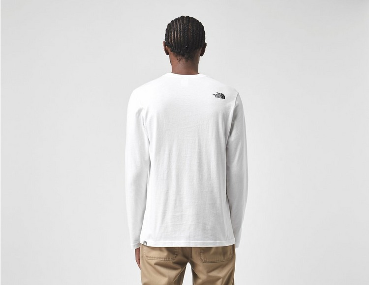 The North Face Long Sleeve Throwback T-Shirt