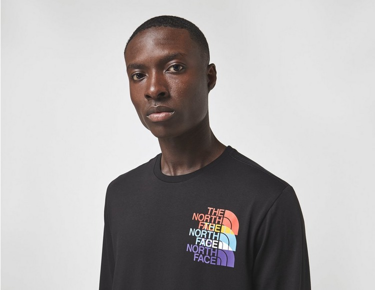 The North Face Long Sleeve RGB Prism T-Shirt