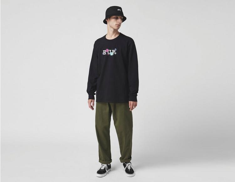 Huf Long Sleeve Psycho Daisies T-Shirt