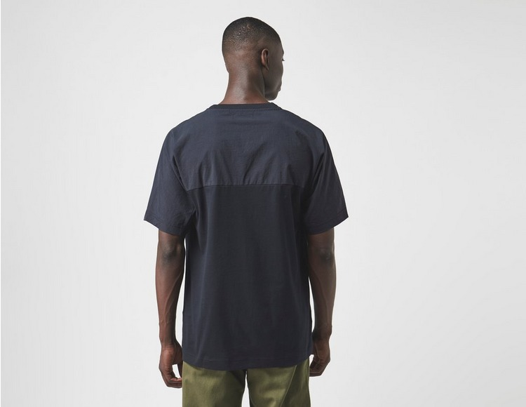 Fred Perry Woven Panel Short Sleeve T-Shirt
