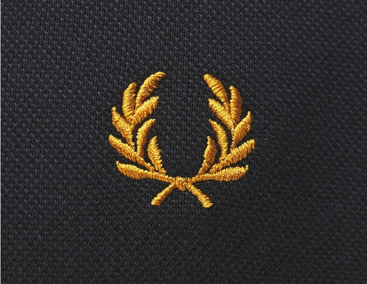 Fred Perry Long Sleeve Twin Tipped Polo Shirt