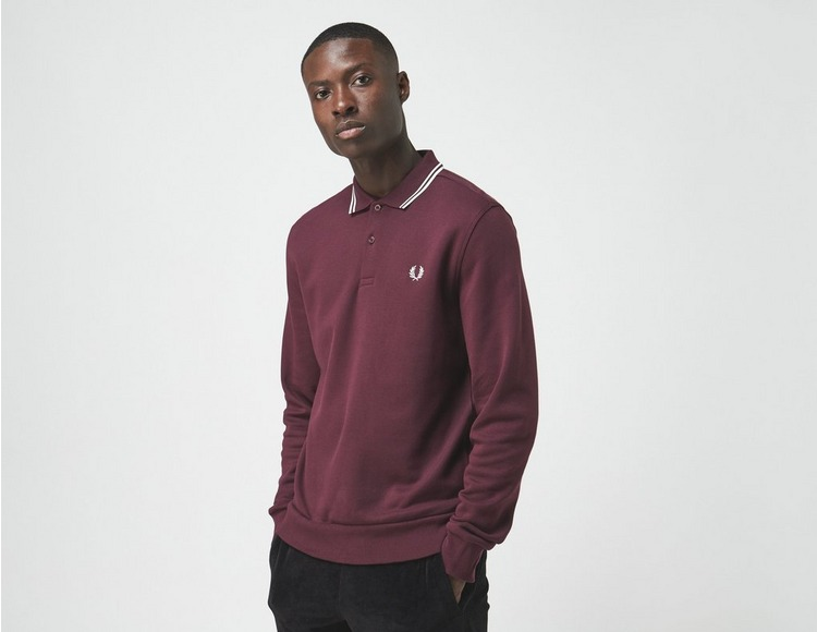 Fred Perry Long Sleeve Tipped Polo