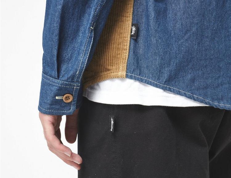Stussy Camicia Cord Denim Mix