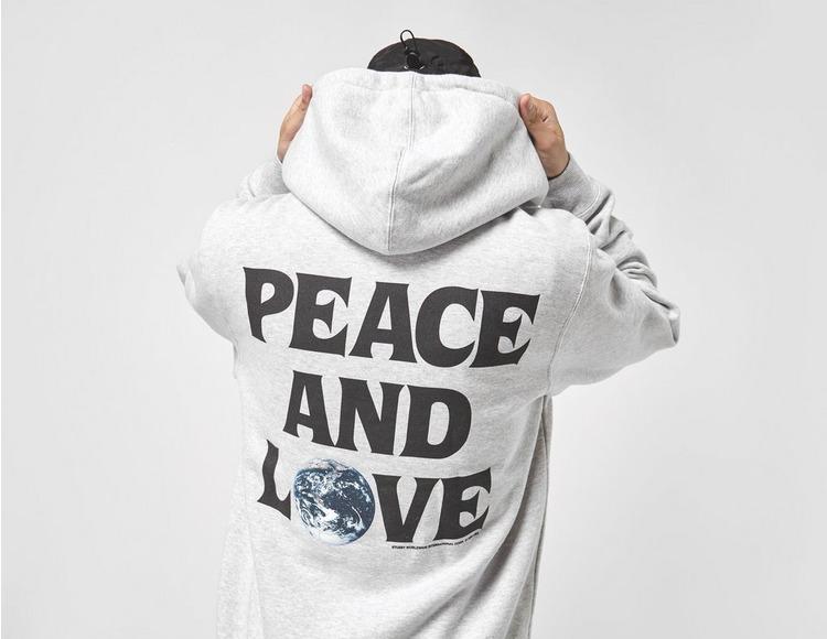 Stussy Peace And Love Hoodie