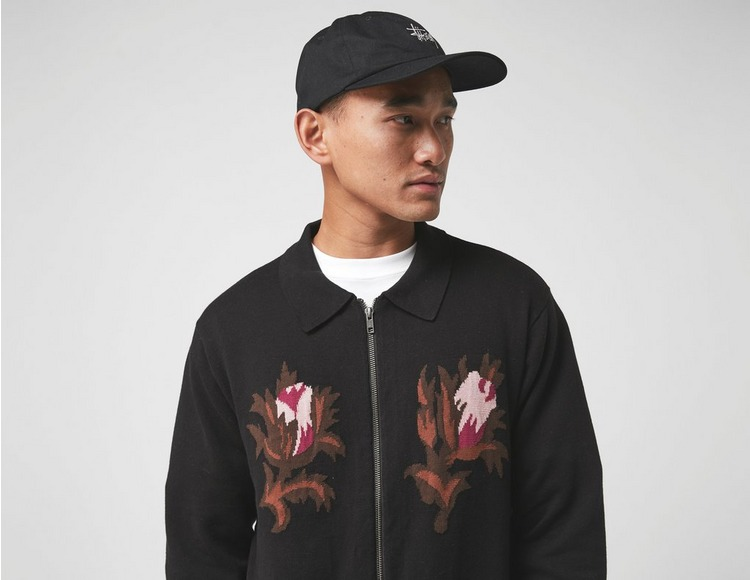 Stussy Long Sleeve Rose Thorn Polo