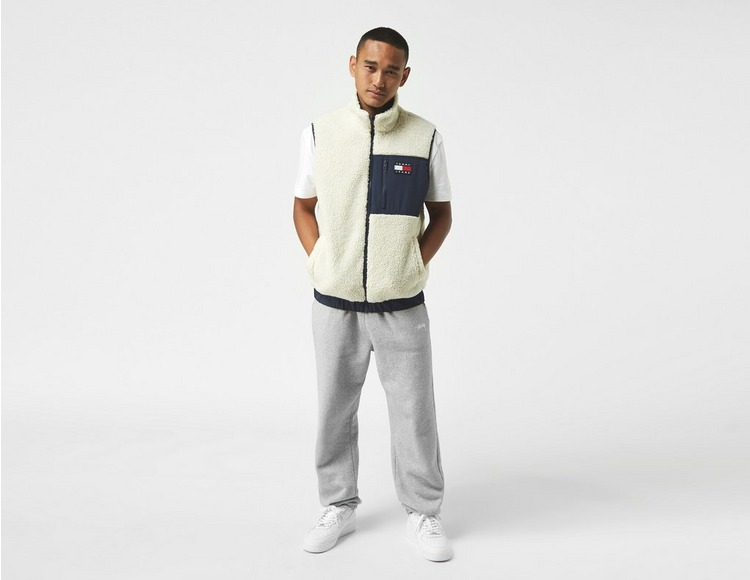 Tommy Jeans Reversible Colour-Block Sherpa Gilet