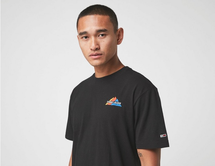 Tommy Jeans Mountain Logo Organic Cotton T-Shirt