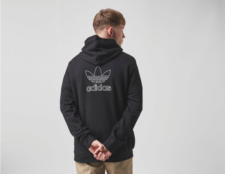 adidas Back and Front Print Trefoil Hoodie